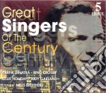 Great singers of the century 1 cd musicale di Artisti Vari