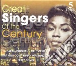 Great singers of the century 2 cd musicale di Artisti Vari