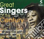 Great singers of the century 3 cd musicale di Artisti Vari