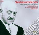 Sciostakovic Dmitri - Sinfonie Da Camera N.1, N.2, N.3, N.4, N.5  (2 Cd) cd musicale di Shostakovich