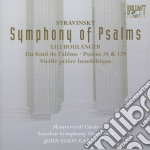 Stravinsky - Symphony Of Psalms cd musicale di Stravinsky