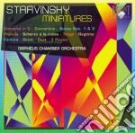 Stravinsky Igor - Miniatures cd musicale di Stravinsky
