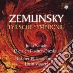 Zemlinsky Alexander Von - Lyrische Symphonie Op.18 cd musicale di Zemlinsky