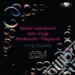 Cage / Lutoslawski - String Quartets cd musicale di John Cage
