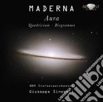 Bruno Maderna - Quadrivium cd musicale di Bruno Maderna