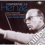 Symphonies 1-6 cd musicale di Henze hans werner