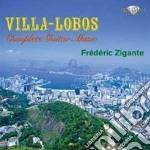 Complete guitar music cd musicale di Villa lobos heitor