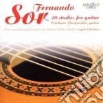 20 studies for guitar music (new edition cd musicale di Fernando Sor