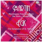 6 monologues from jedermann & the tempta cd musicale di Martin Egk