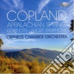 Copland Aaron - Appalachian Spring - Quiet City - Shortsymphony - Three Latin American Sketches cd musicale di Aaron Copland