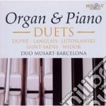Duetti Per Organo E Pianoforte cd musicale di Miscellanee