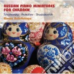 Russian piano miniatures for children cd musicale di Miscellanee