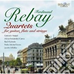 Quartetti cd musicale di Ferdinand Rebay