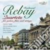 Rebay Ferdinand - Quartetti Per Chitarra, Flauto E Archi cd