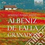 Spanish piano music - opere per pianofor cd musicale di Miscellanee