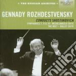 Rozhdestvensky dirige sciostakovic cd musicale di Dmitri Sciostakovic
