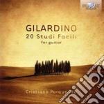 20 studi facili per chitarra cd musicale di Angelo Gilardino