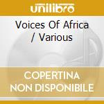 Voices of africa african blackwood cd musicale