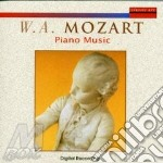 Piano music cd musicale di Wolfgang Amadeus Mozart