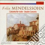 Concerto for violin cd musicale di Mendelssohn