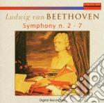 Symphony n�2/7 cd musicale di Beethoven