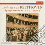 Cassovia Camerata, Attanasi Walter - Beethoven:symphonies No.1&3 cd musicale di Beethoven
