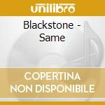 S/t cd musicale di Blackstone