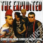 COMPLETE PUNK SINGLES cd musicale di EXPLOITED