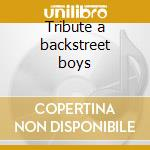 Tribute a backstreet boys cd musicale di Studio 99