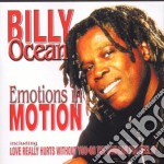 Emotions in motion cd musicale di Billy Ocean