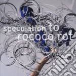 To Rococo Rot - Speculation cd musicale di TO ROCOCO ROT