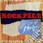 Rockpile - Live At Montreux 198 cd musicale di Rockpile