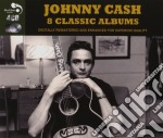 8 classis albums cd musicale di Johnny Cash