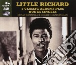 5 classic albums plus cd musicale di Little Richard