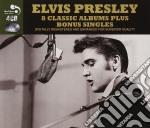 8 classic albums plus bonus singles cd musicale di Elvis Presley