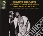 5 classic album plus cd musicale di James Brown