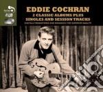 2 classic album plus cd musicale di Eddie Cochran