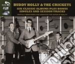 6 classic albums plus cd musicale di Buddy/crickets Holly