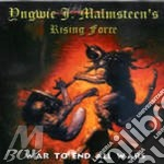 WAR TO END ALL WARS cd musicale di Malmsteen's yngwie rising forc