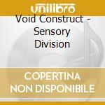 Sensory division cd musicale