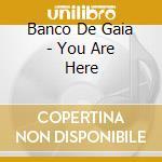 YOU ARE HERE cd musicale di BANCO DE GAIA