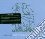 Arthur Russell - First Thought Best Thought cd musicale di RUSSELL ARTHUR