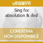 Sing for absolution & dvd cd musicale di Muse
