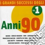 I GRANDI SUCCESSI DEGLI ANNI '90-1 cd musicale di ARTISTI VARI
