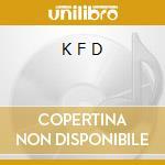 K F D cd musicale di W.A.S.P.