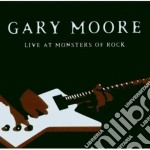 LIVE AT THE MONSTERS OF ROCK cd musicale di Gary Moore