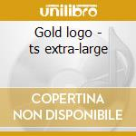 Gold logo - ts extra-large cd musicale