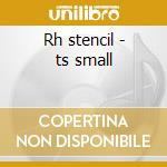 Rh stencil - ts small cd musicale