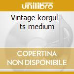 Vintage korgul - ts medium cd musicale