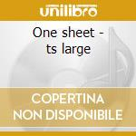 One sheet - ts large cd musicale